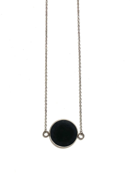 DEKOKRETE- Connector Necklace- Onyx