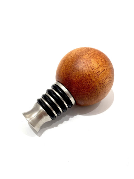 TRENCHE- Sphere Wine Stopper - Caoba