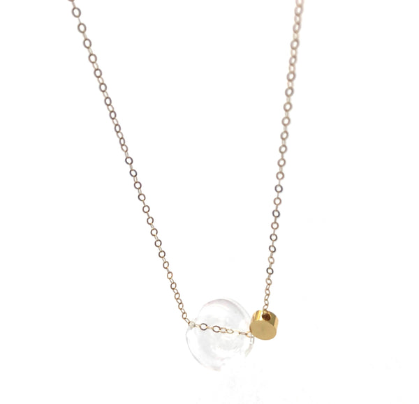 LUCA - Classic Glass Sphere - Short Necklace