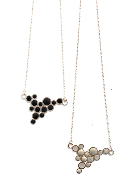 DEKOKRETE - Bubble Necklace Silver