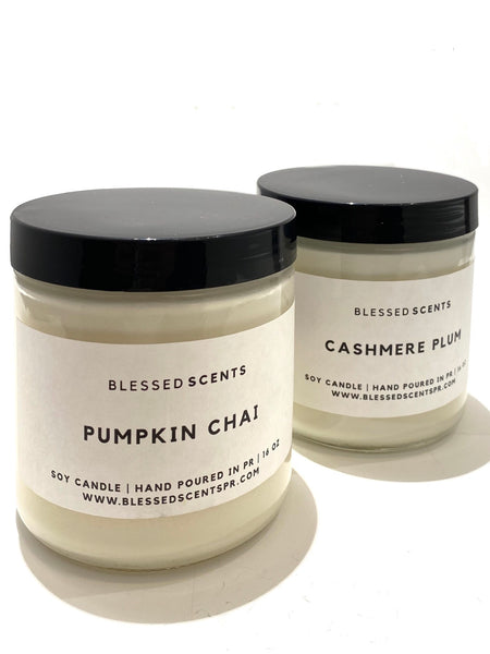 BLESSED SCENTS- 16oz. Soy Candle