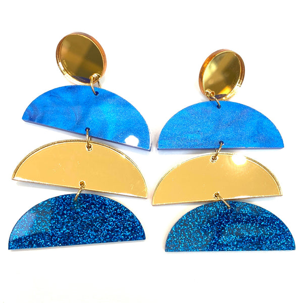 M3 by MONICA- AZTEC EARRINGS (more colors available)