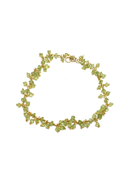 MONIQUE MICHELE- Stone Bracelet - Peridot