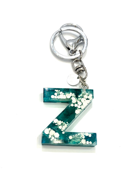 EMU.ART - Alphabet Resin Keychain - Z