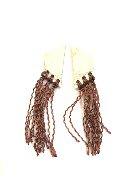 COCOLEÉ- THREAD EARRINGS