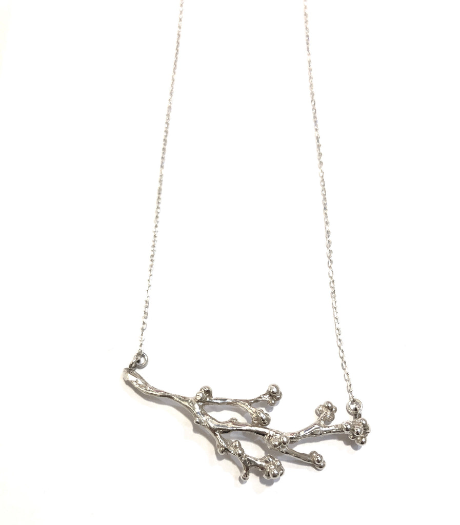 SNOU* JOYAS- COFFEE BRANCH NECKLACE FREEFORM