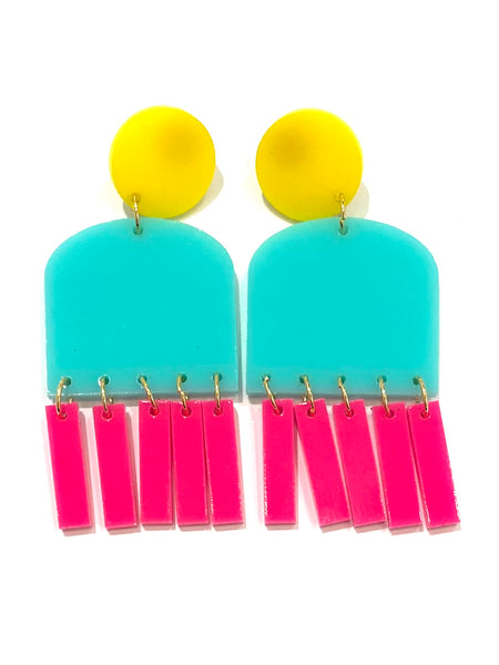 M3 by MONICA- Ventanitas Earrings (many colors available)