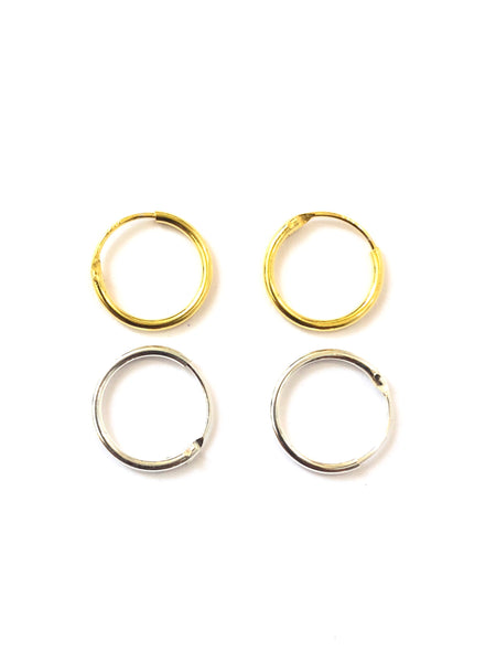 MUNS- 12MM HOOPS