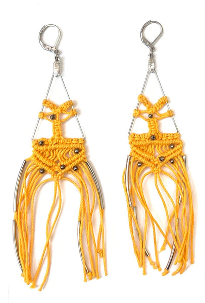 TIRIJALA- WEB EARRINGS (more colors available)