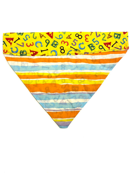 Mambo by Sajorí - Dog Bandana - M - Numbers & Letters