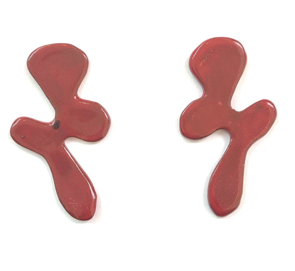 LAS MALCRIÁS- SQUIGGLE EARRINGS (More colors available)