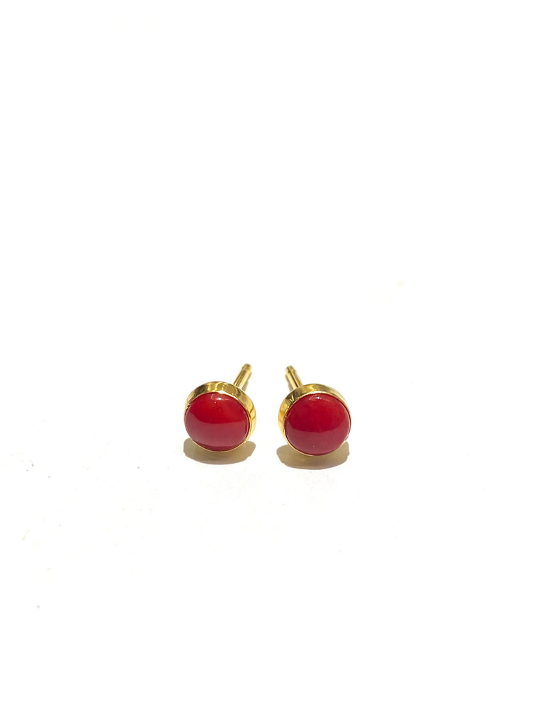 MONIQUE MICHELE - Mini Studs - Coral Stone