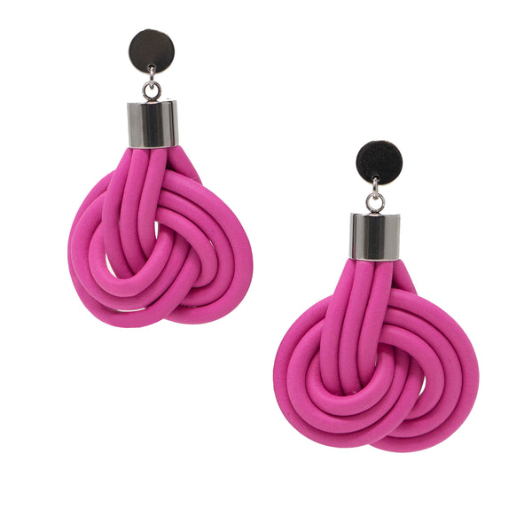 KNOT PREDICTABLE- Swirl Earrings
