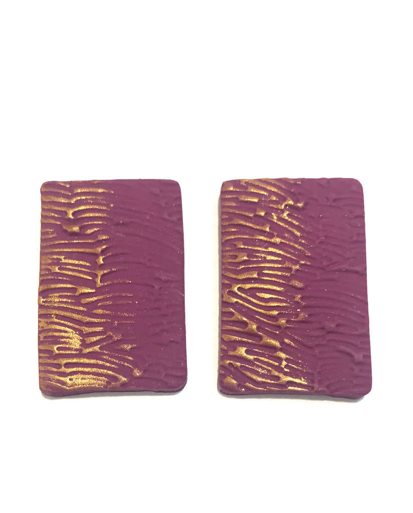COCOLEÉ- BIG TEXTURED STUDS