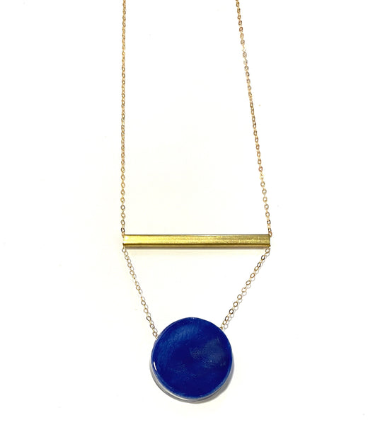 ITSARI - Dot Bar Long Necklace