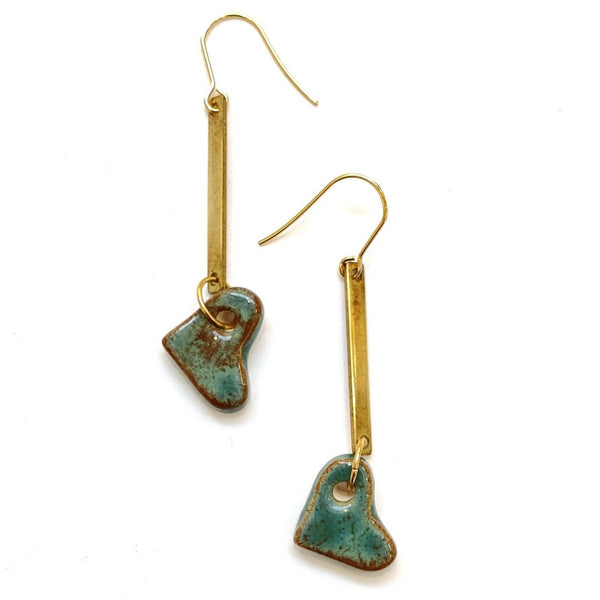 Itsari - Dangle Earrings- Hearts (more colors available)