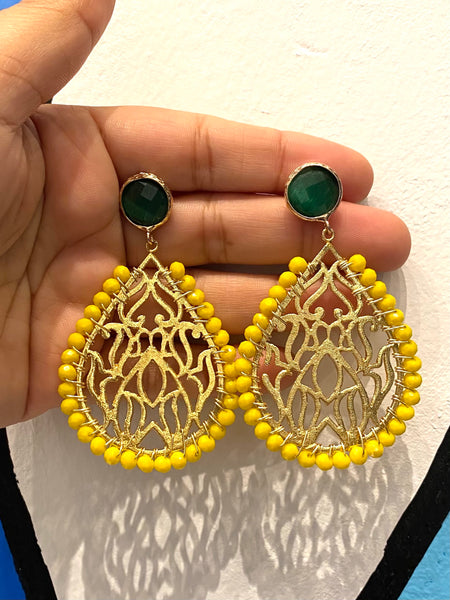 HC Designs- Drop Earrings (more colors available)