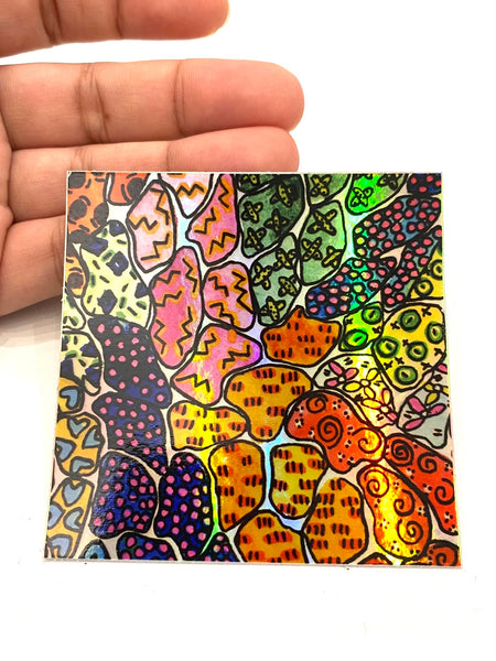 SUSANA CACHO- Sticker - Holographic Pattern