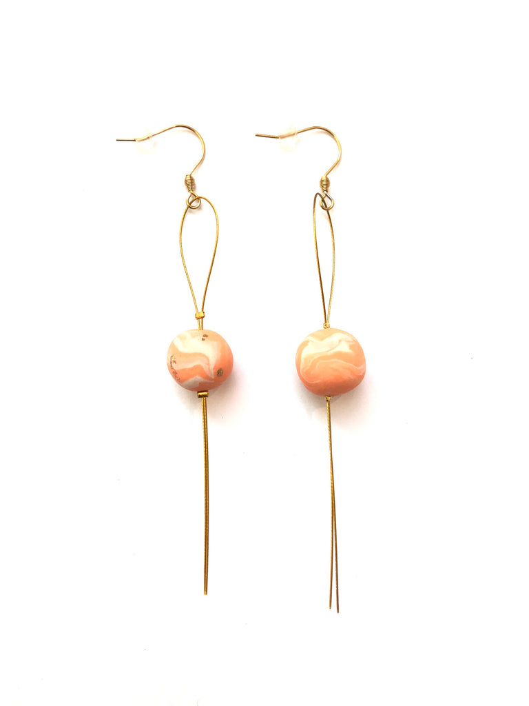 COCOLEÉ- SPHERE EARRINGS