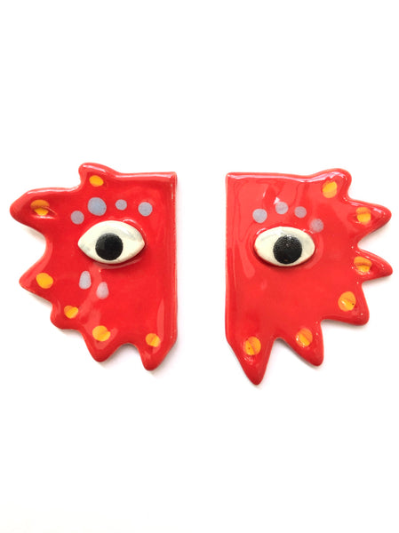 LAS MALCRIÁS - ARTIFICIO - EYES EARRINGS (More colors available)