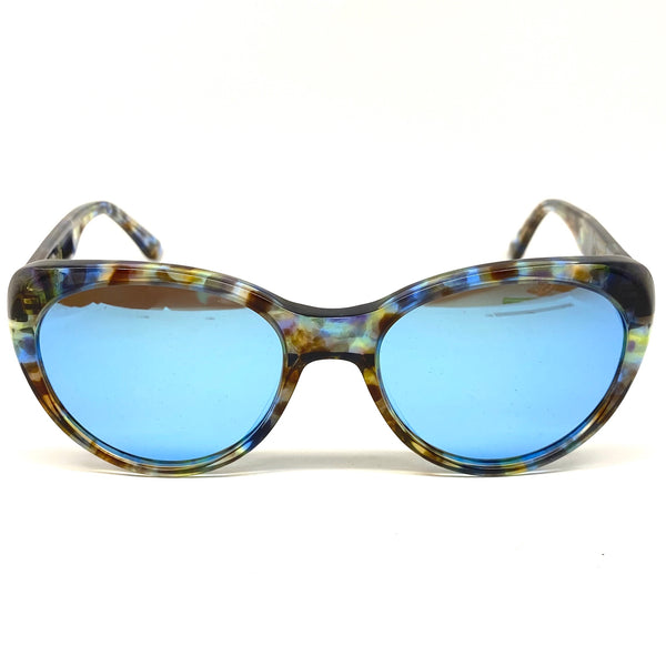 Herny's Wood - Sunglasses - Jamelia - Blue Nebula Acetate