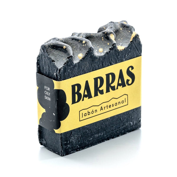 BARRAS- Activated Carbón Soap
