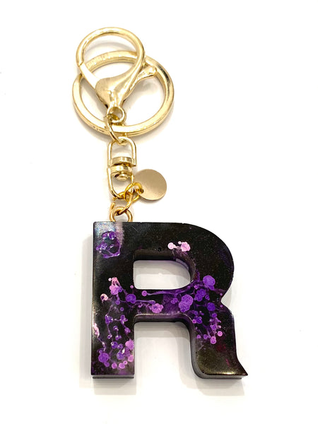 EMU.ART - Alphabet Resin Keychain - R