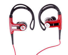 Beats by Dr. Dre PowerBeats Ear-Hook Headphones Black/Red