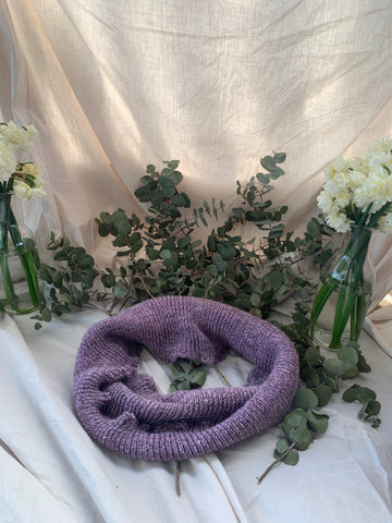 Eco Purple Delight Infinity Scarf