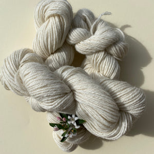 Alpaca Yarn - Natural Ecru 8ply