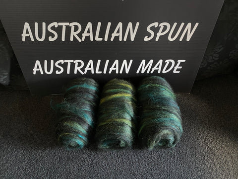 Green Silk Bumps