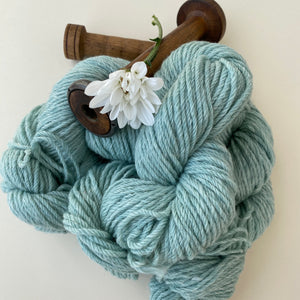 Alpaca Yarn 8 ply Mint Green