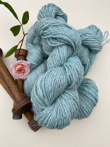 Alpaca Linen Merino Blend 8 ply Yarn - Pale Blue
