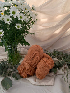Alpaca Merino Light Orange Blend 8ply - 150g skeins
