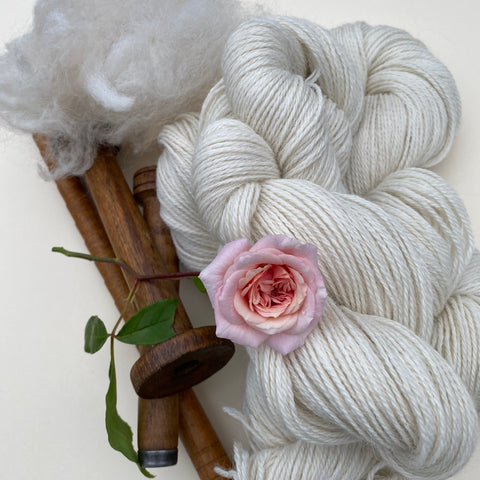Alpaca Ecru Cream 4ply