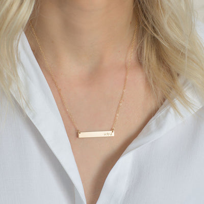 Love Bar Necklace | 1.25