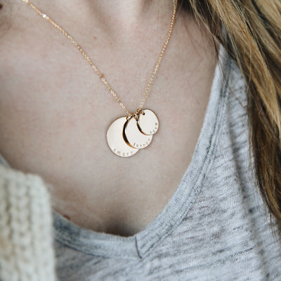 Nova Disc Necklace