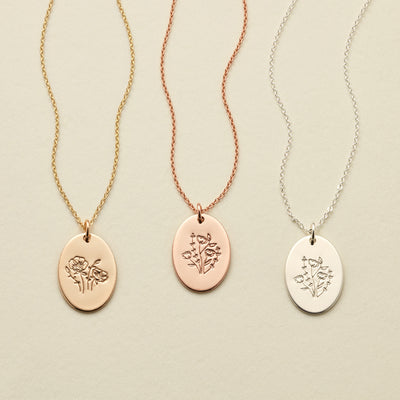 Juno Oval Necklace