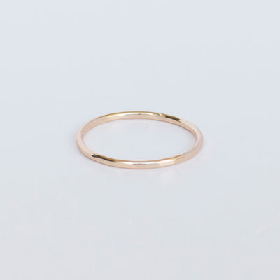 Hammered Stacking Ring