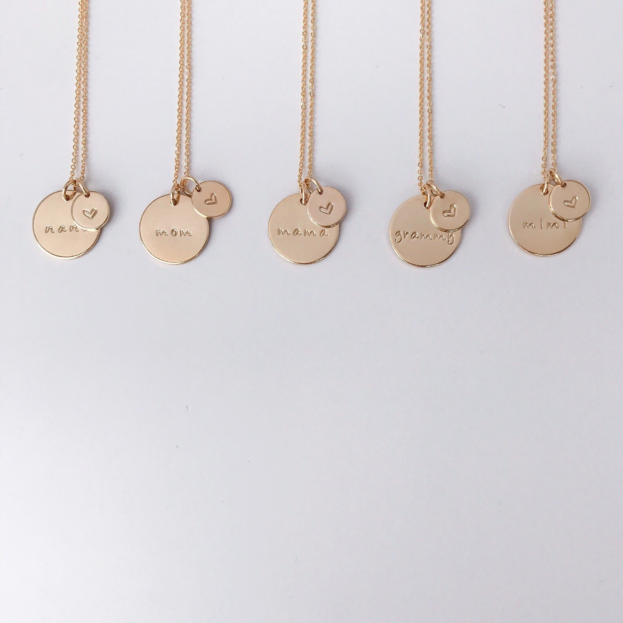 70fd3845f Momma w/ Love Necklace- 5/8