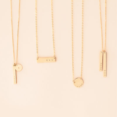 Ray Bar Necklace