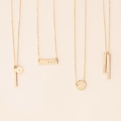 Mama & Co Bar Necklace