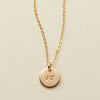 Amora Disc Necklace