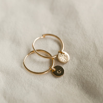 Evie Hoop Earrings