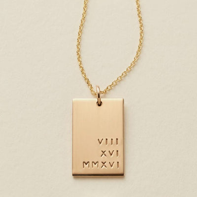Lennon Rectangle Necklace