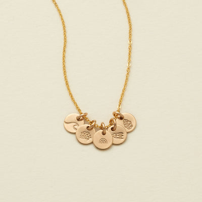 Evie Charm Stacker Necklace | The Little's Collection