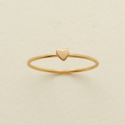 1c3f20b8d8ee7 Heart Stacking Ring