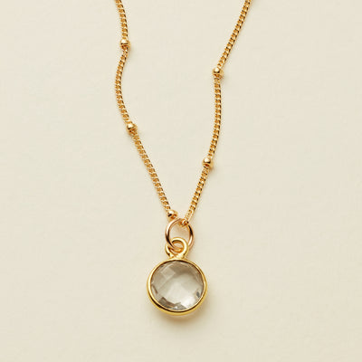 Prism Gemstone Necklace
