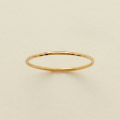 Round Stacking Ring