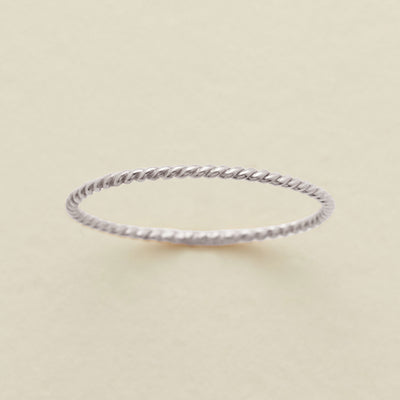 Braided Stacking Ring
